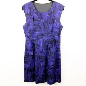 Theory Shyann Wealth Sheath Dress 8 Brushstroke